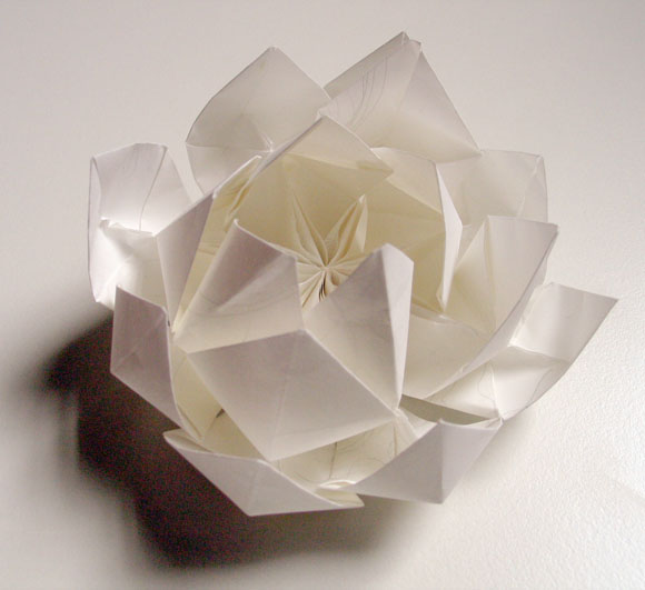 Flower Lotus Origami Embroidery